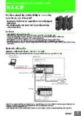 NX-series Communications Interface Units - NX-CIF