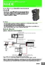 NX-series EtherNet/IP™ Coupler Unit - NX-EIC