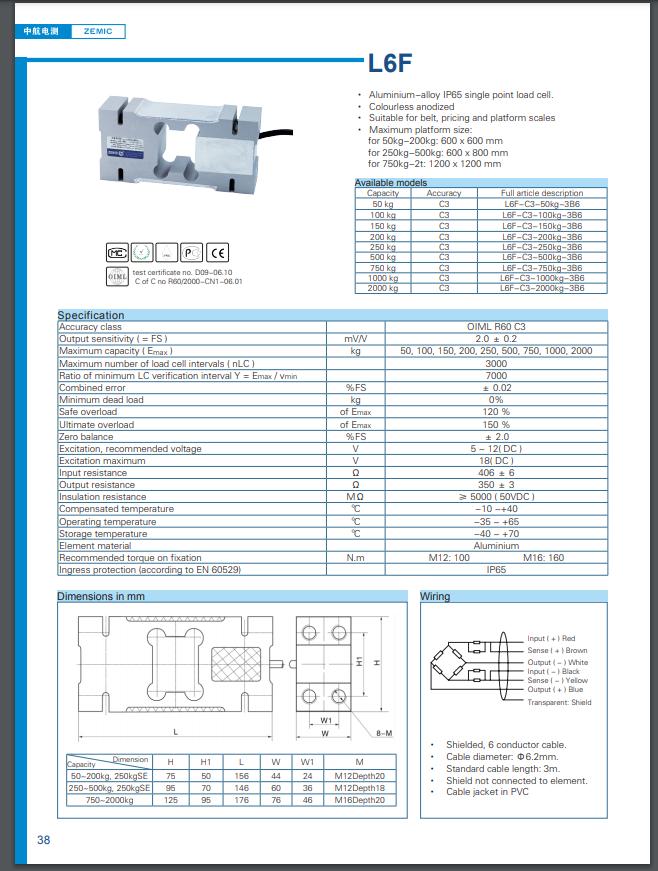 Datasheet L6F (PDF)