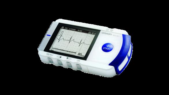 نوار قلب Electrocardiograph (ECG) HeartScan